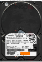 Hitachi Deskstar HDS722512VLAT80 13G0253 APR-2004   SATA front side