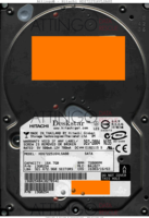 Hitachi Deskstar HDS722516VLSA80 13G0254 DEC-2004   SATA front side